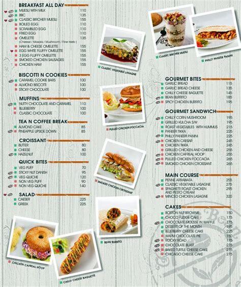 Menu Coffee Bean And Tea Leaf coffee bean malaysia menu prices the coffee table