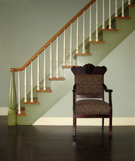 Cottage Staircase by Historic Cottage Renovation Staircase Traditional
