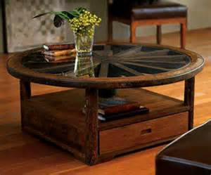 Wagon Wheel Coffee Table Wagon Wheel Coffee Table Furniture