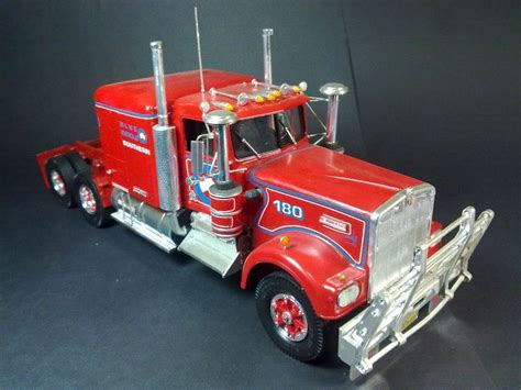 model trucks australia kenworth t900 australia truck model kit youtube