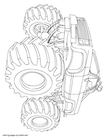 bigfoot monster truck coloring pages cute bigfoot monster truck coloring pages contemporary