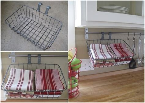 kitchen towel holder ideas 15 clever kitchen towel storage ideas
