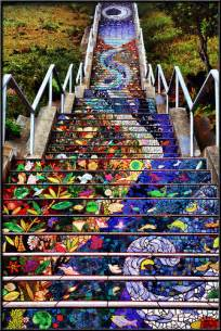 Tiled Stairs San Francisco by Golden Gate Steps 2 These Tiled San Francisco Steps