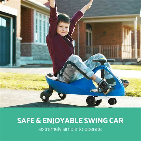 wiggle swing car swing car swivel slider kids ride on toys children wiggle