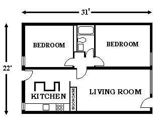 size of 2 bedroom apartment two bedroom apartments center for the study of world