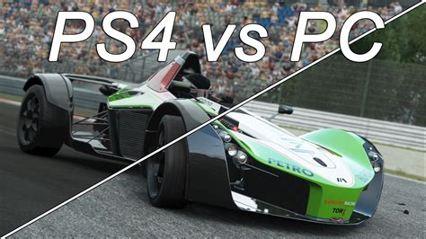 Auto Spiele Ps4 by Project Cars Screenshot Comparison Ps4 Vs Pc Version On
