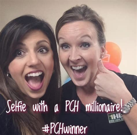 Past Pch Winners - what would your selfie with the prize patrol look like pch blog