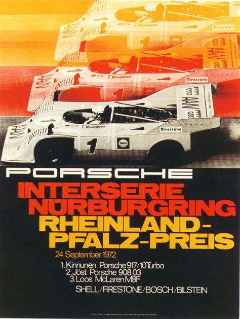 porsche poster vintage pelican parts vintage porsche racing posters