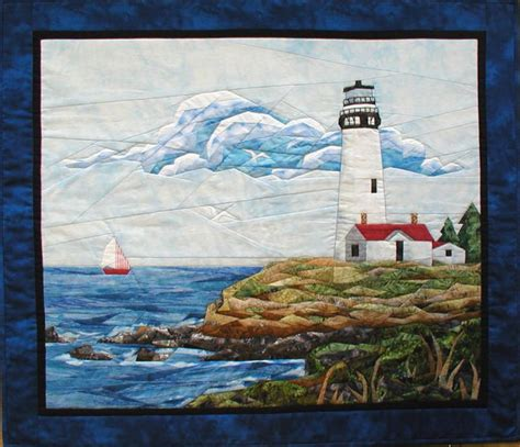 1000 images about lighthouse quilts on block