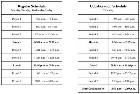 esuhsd andrew p hill high school bell schedule