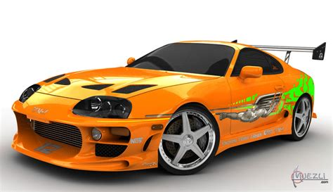toyota supra fast and furious toyota supra fast and the furious high poly 3d car