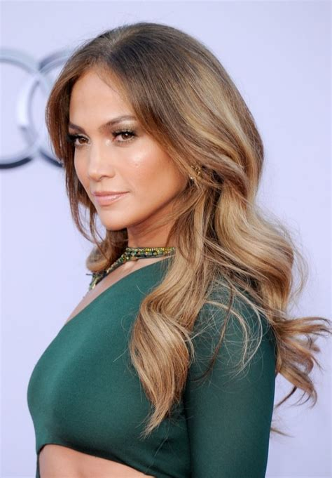 jennifer lopez long sleek hairstyle hairstyles weekly