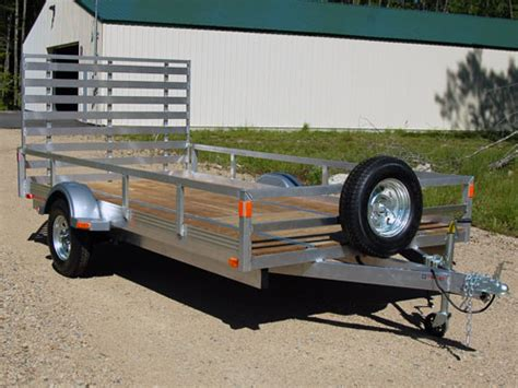 aluminum utility trailers 173 open trailers landscape trailers