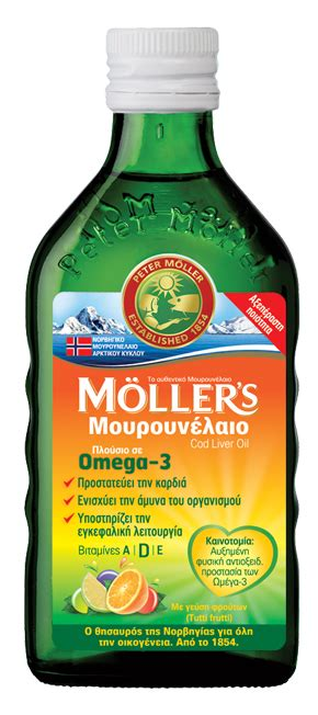Mollers Tutti Fruitti 250ml moller s μουρουνελαιο tutti frutti 250ml pharmaplus gr
