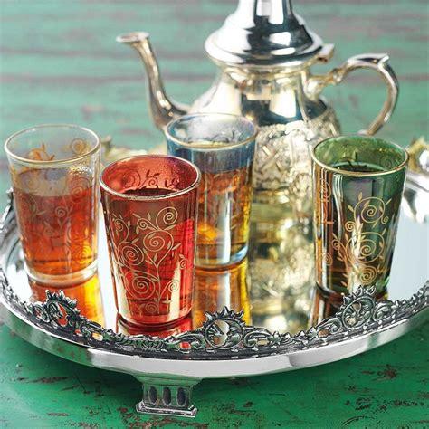 moroccan tea set moroccan tea pinterest