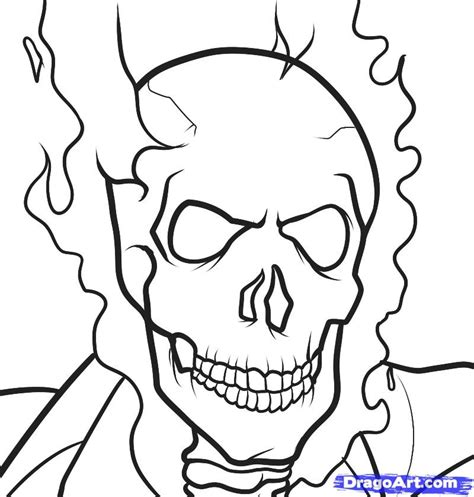 ghost rider coloring pages az coloring pages