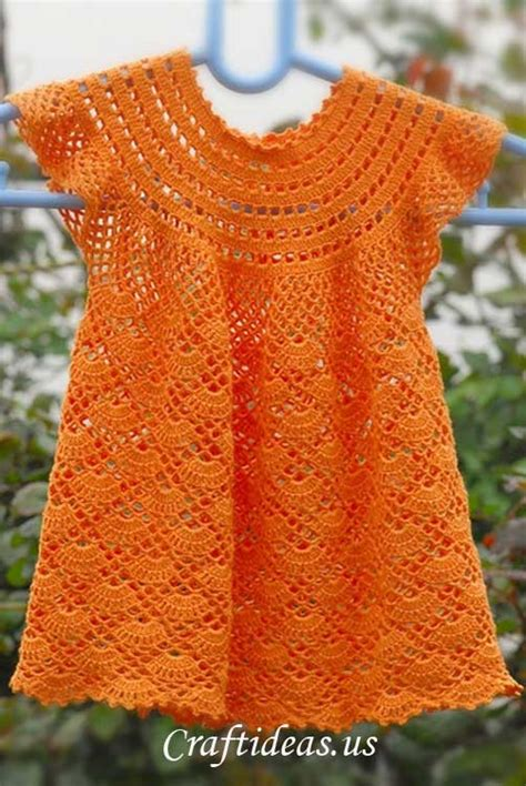 baby girl crochet dress patterns 16 patterns for cute crochet girls dresses