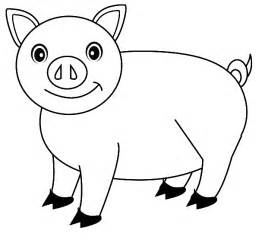 coloring pig