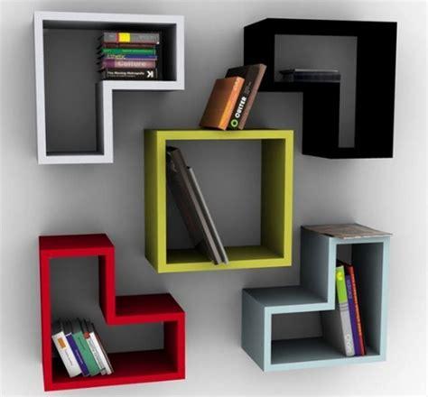 Lemari Kayu Triplek lemari rak buku kayu furniture rumah 2401