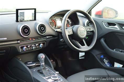 Audi A3 Interior by 2017 Audi A3 Sedan Facelift Interior Drive Review