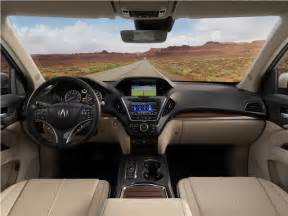 Acura Mdx Interior Dimensions Acura Mdx Prices Reviews And Pictures U S News World