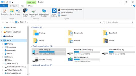 How To Find Free How To Check Free Drive Space Windows 10 8 7