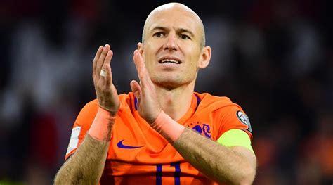 aren roben arjen robben retires from netherlands after golazo