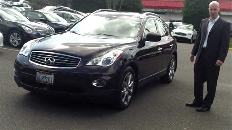 infiniti ex35 2010 2010 infiniti ex35 review who knew brown would be such a