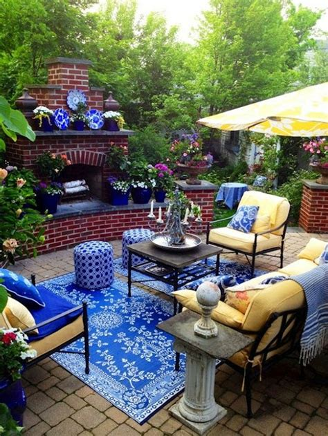 Black And Blue Patio by 56 Cutie Pastel Patio Design Ideas Digsdigs