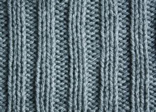 how to knit ribbing 2x2 rib stitch