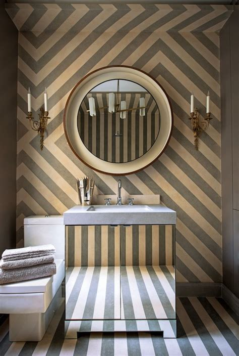 powder room wall decor powder room accent wall design ideas