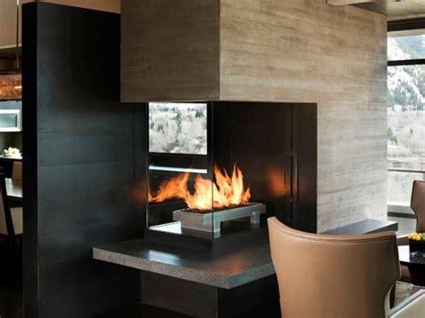 living room chimney