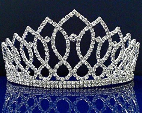 wedding tiaras and crowns bridal wedding prom rhinestone crystal wedding tiara crown