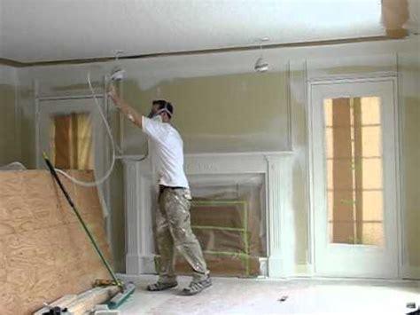 Spray Painting Interior Trim by Spraying Trim On Two Tone Spray
