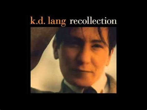 Cd K D Lang Recollection k d lang and roy orbison 166 singers and their