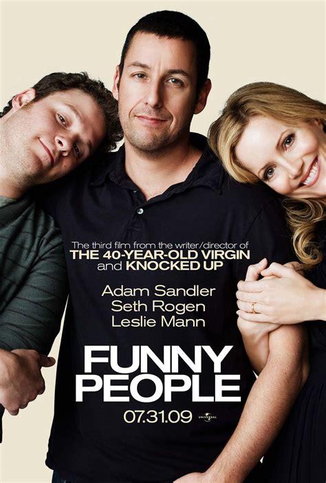 leslie mann seth rogen adam sandler movie poster monday rogen sandler in funny people