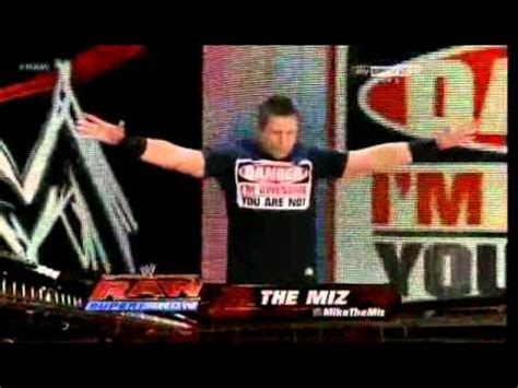 Tshirt Iam The Danget the miz new danger i m awesome you are not t shirt