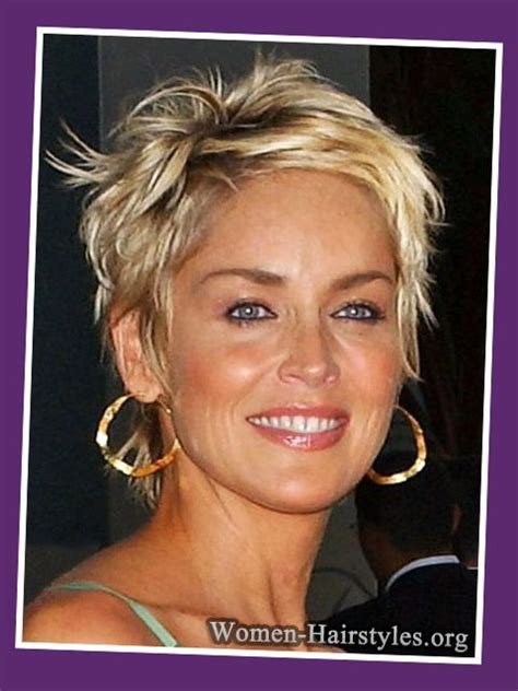 short haircut for women 60 with square jaw thick hair how to sport pixie hairstyle for different face shapes