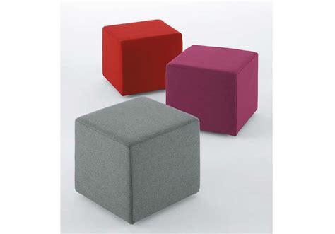 pouf per sedersi cubo pouf pianca