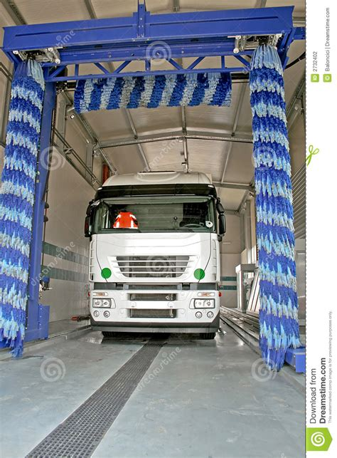 truck wash stock photo image  carwash industry