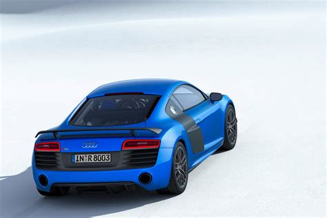 audi steals bmw i8 s thunder with new r8 lmx world s