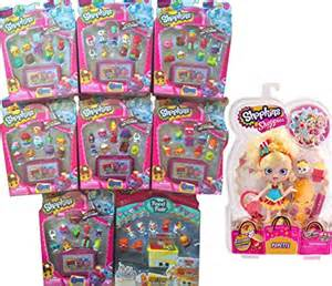 Ever After High Dolls Names Shopkins Season 4 Set Of 6 Amp Fast Food Collection With Popette Shoppies Playset Toys