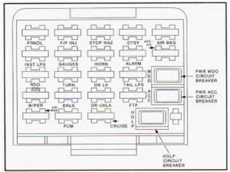 how to remove fuel pump 1995 buick skylark buick skylark 1995 fuse box diagram auto genius