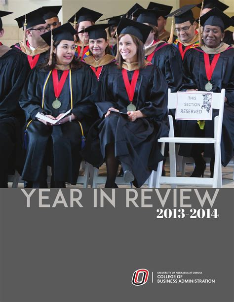 Of Tulsa Mba Review by College Of Business Administration Uno 2014 Annual Review