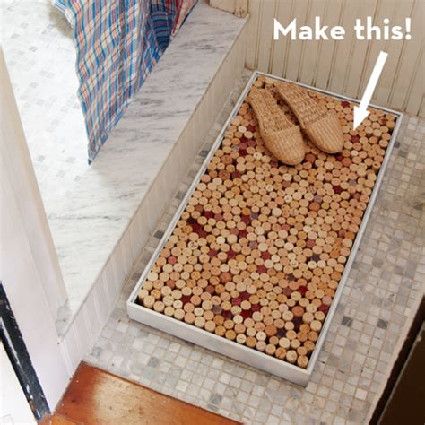 Diy Bath Mat Rug by Make It A Easy Diy Wine Cork Bath Mat 187 Curbly