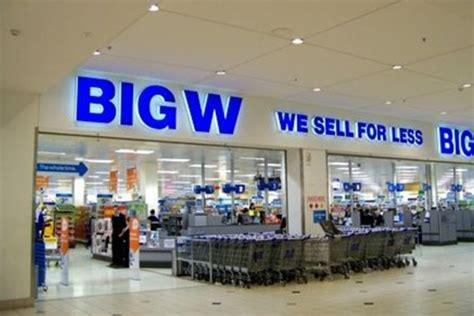 big w says thanks but no thanks to moree moree chion