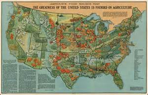 united states agriculture map armour s food source map the greatness of the united