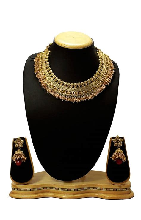 1 gram indian gold jewellery buy latest indian traditional antique design one gram