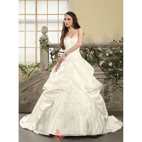 Wedding Gown Satin by Aden Satin Wedding Gown