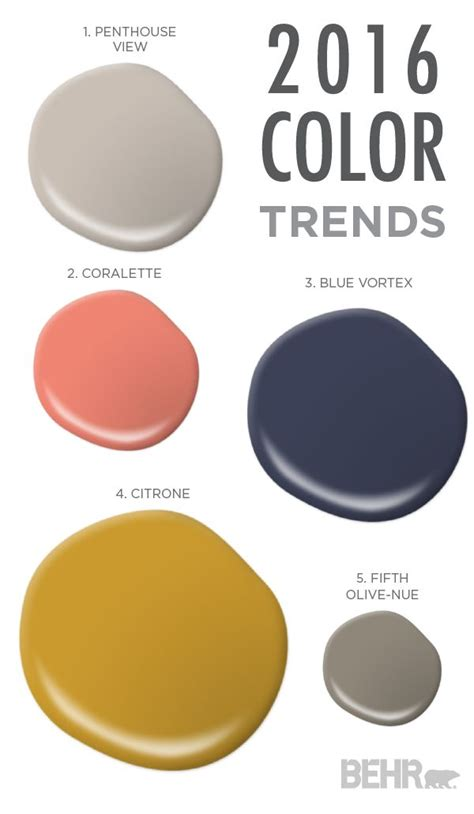 sophisticated colors 104 best behr 2016 color trends images on pinterest